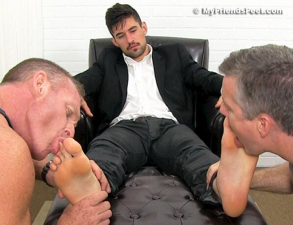 Fetish kink sheer socks gay men the fellows