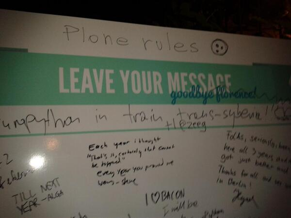 #plone rules at #europython! Now ready for the sprint pic.twitter.com/7RyihnEeln