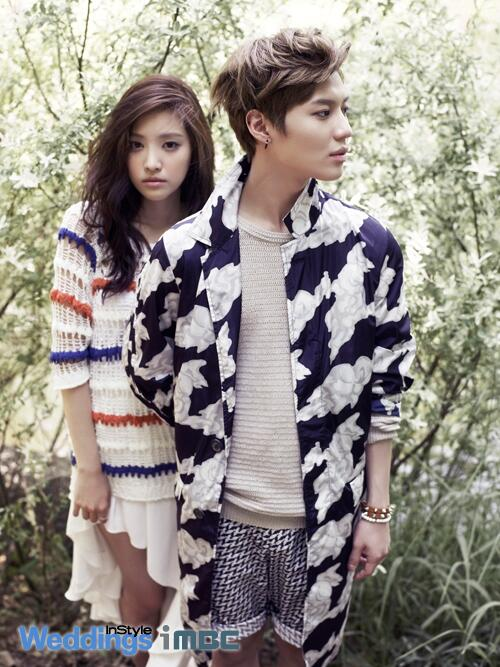[Photoshoot] Naeun and Taemin being perfect. - Celebrity ...