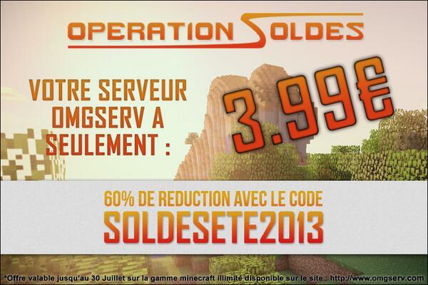 code de reduction omgserv