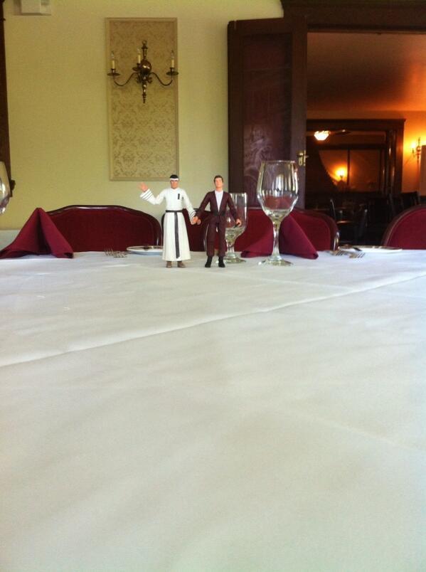 The wedding cake toppers for the non-existent wedding cake http://t.co/nPA7gtJ9Gu