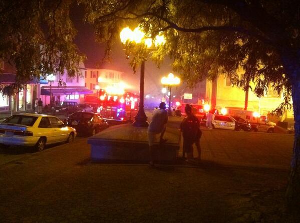 Working fire @AaronFrechette pic.twitter.com/gpRzS8GVWV