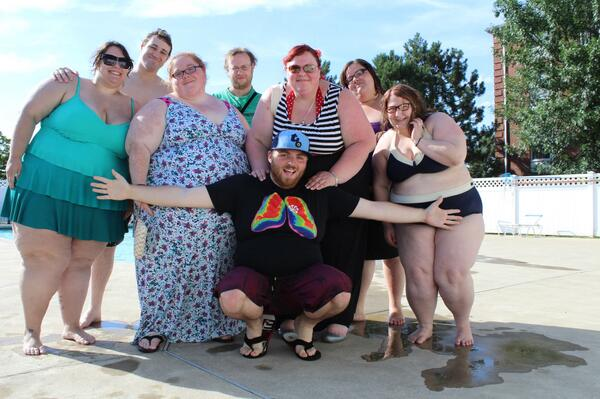 Bold to support pool party and host clothing swap