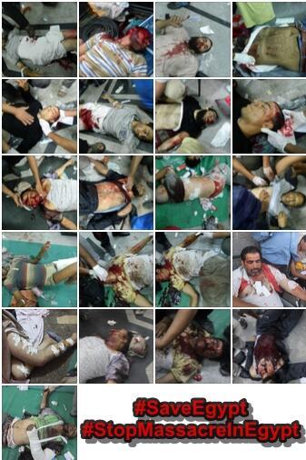 Gambar Kekejaman Tentera Di Mesir