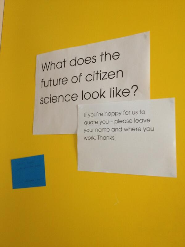 What does the future of #CitizenScience look like? pic.twitter.com/L6ZIEOnd4o