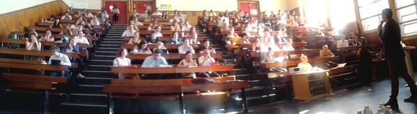 Conférence Stratégie de Contenu Marketing Web,  c'est parti ! #scmw2013 pic.twitter.com/9G7JAlEYdL