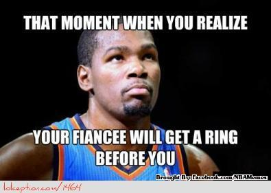 Poor Kevin Durant.