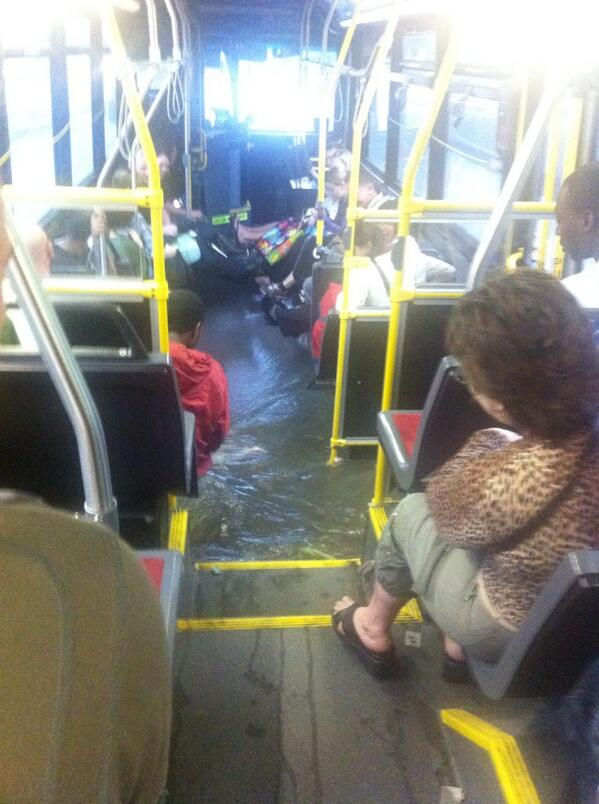 "Toronto Storm RT ""@joyandwoe: WOW. RT @globalmedicdmgf: Our bus just flooded! #stormTO pic.twitter.com/wrKENppeEh"""