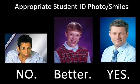 Image result for smile in the id card
