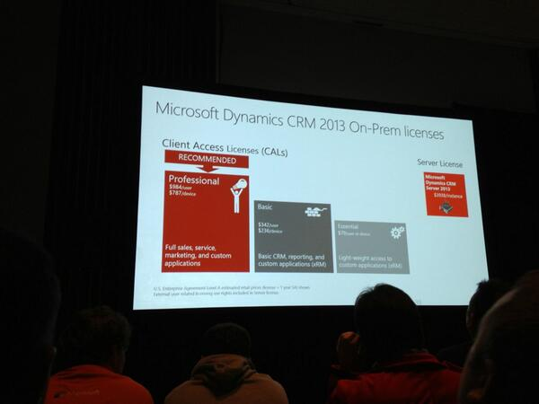 #CRM2013 #WPC2013 on prem pricing pic.twitter.com/gPGrCJTsxx
