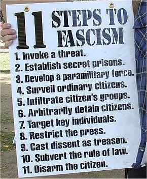Twitter / isurvivalskills: 11 Steps to Fascism #preppers ...