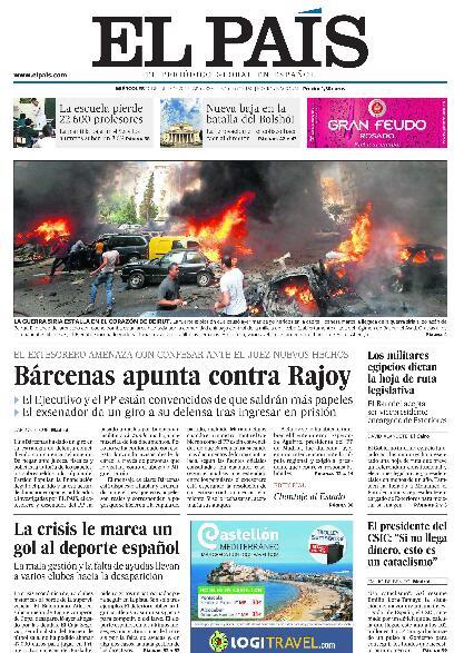 La Vergonzosa Politika En España - Magazine cover