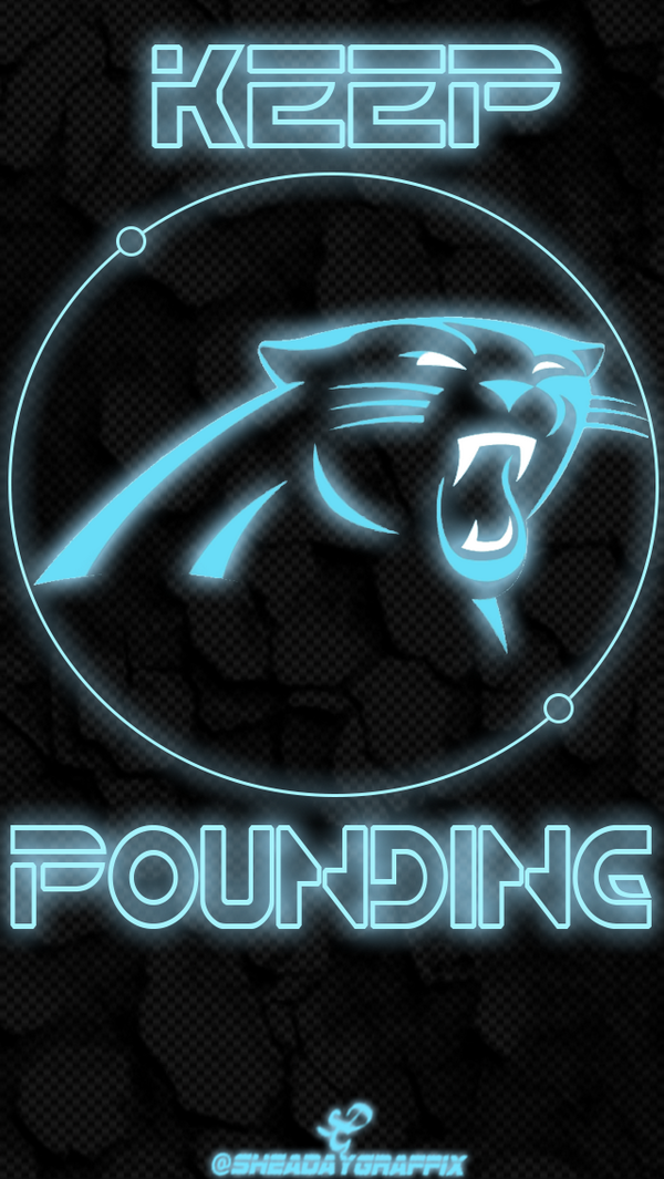 Sheaday Designs On Twitter Carolina Panthers Iphone Wallpaper