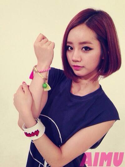 "[PHOTO] : GIRL'SDAY Hyeri - ""AIMU"" sponsor !  BOzaV3zCQAAYUGv"