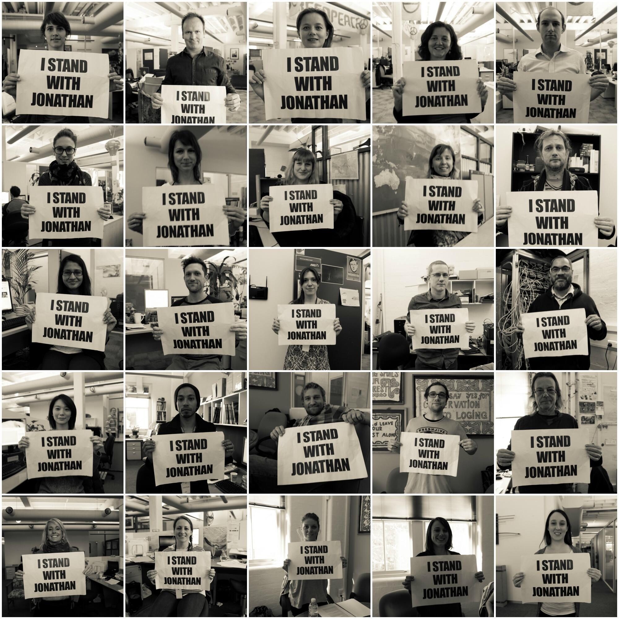Twitter / GreenpeaceAustP: Greenpeace staff and volunteers ...