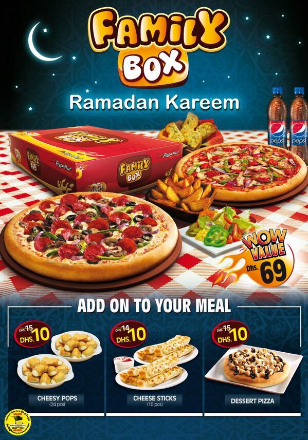 Pizza Hut Me On Twitter Ramadan Offer Uae Iftar Pizzahut عرض رمضان في الإمارات Http T Co Ofbumixlto