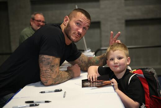 orton dating A crazed wwe fan has been arrested after climbing into the ring during an event in south africa today and blasting randy orton in the nuts, tmz has learned.