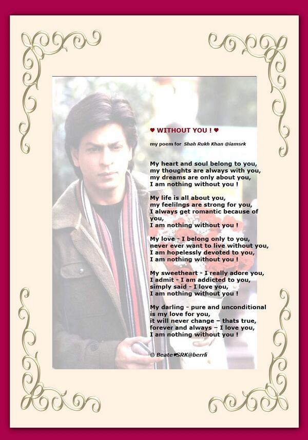 Shah Rukh Khan on Twitter:
