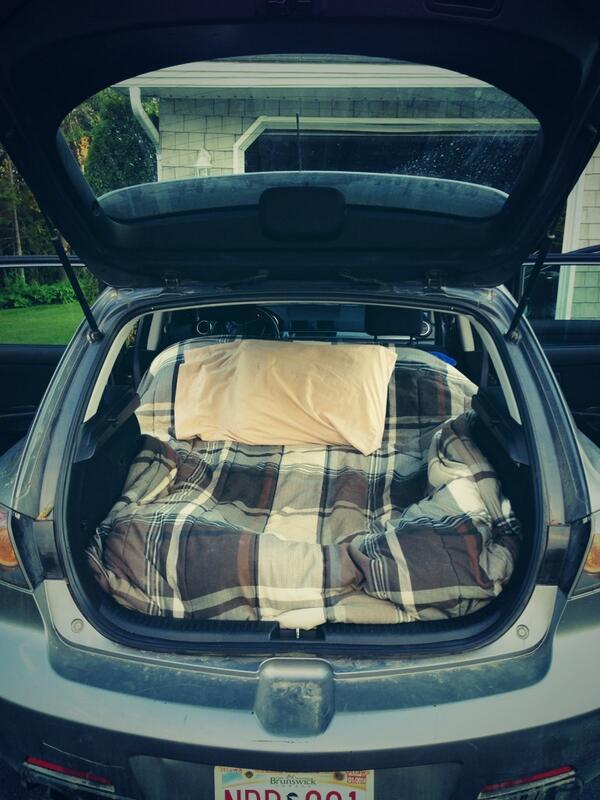 Ryan Hunter On Twitter Hatchback Camping Mazda3 Standard Tco 1i297KCEdd