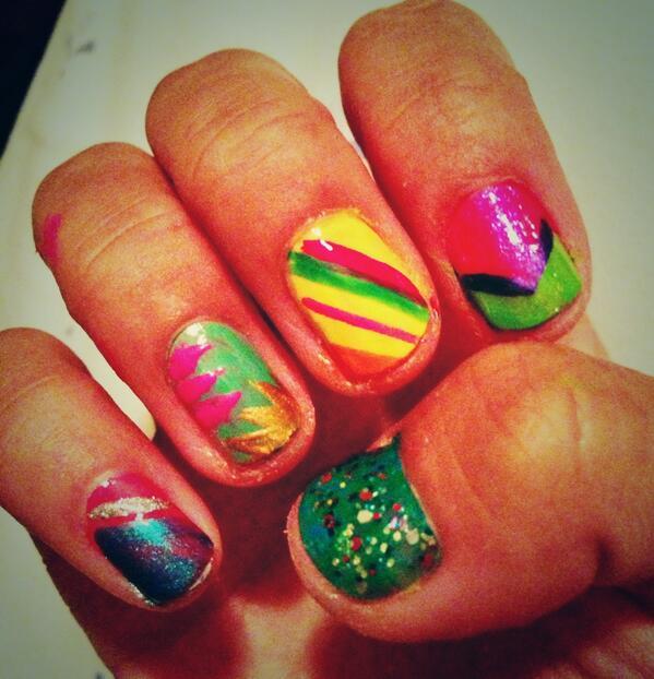 Tiger lily nail art tigerlilynails twitter 0 replies 1 retweet 0 likes prinsesfo Gallery