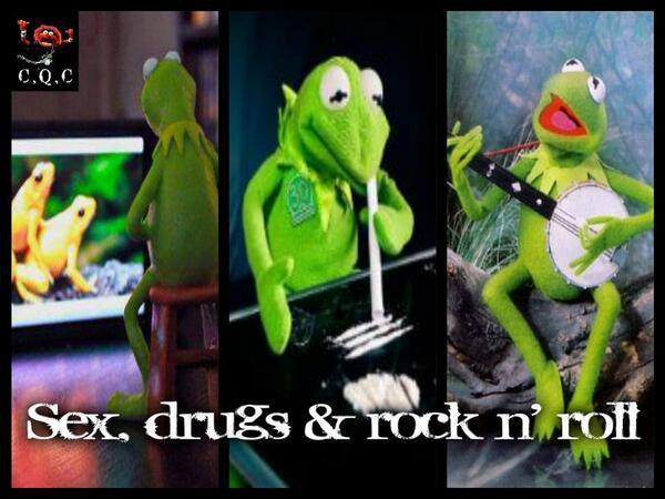 Resultado de imagen para kermit drugs