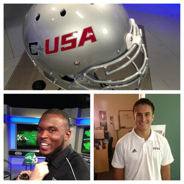 So our #CUSASAAC group is well represented at @CUSAFB media days!!! #wearecusa pic.twitter.com/0S7f6VBxRJ