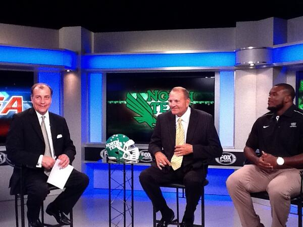 Ready for some football? @CUSAFB Media Day in our studio earlier today! #CUSAFB pic.twitter.com/q7vsRRVLk0