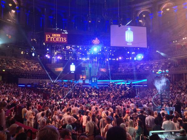 #doctorwhoproms Utterly beautiful first half. pic.twitter.com/6drgzDSYjE