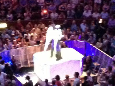 Weeping Angel at the proms #DoctorWhoProms pic.twitter.com/MZ8gTXgSMO