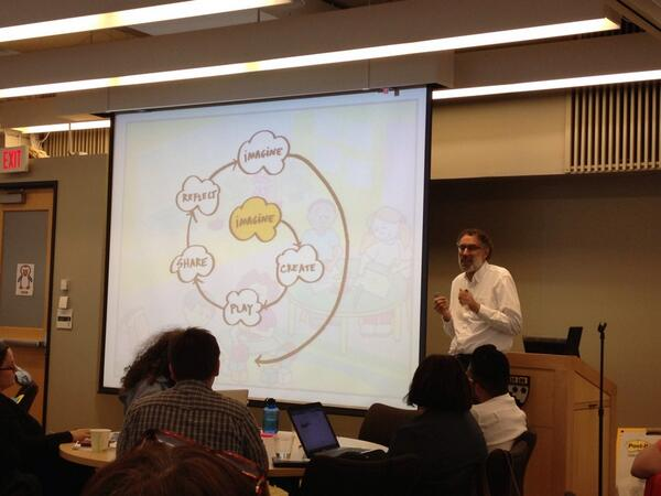 Mitch Resnick - @mres - talking about #Scratch at #CCOW. pic.twitter.com/JuBdvtfGCk