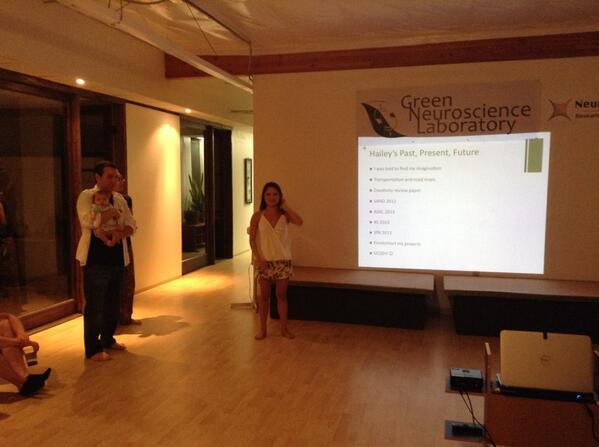 Les étudiants du Green neuroscience lab sont hypra chanceux... pic.twitter.com/ClECXFRp6v