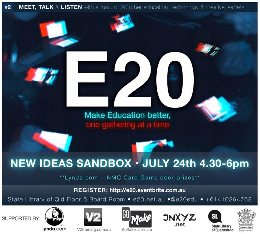 Twitter / E20edu: E20: Make education better, ...