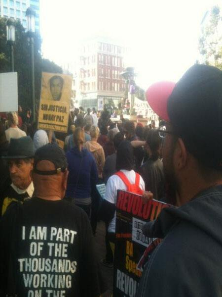 @KenWayne is on scene of third day of #Zimmerman protests in #Oakland. More coverage to follow. pic.twitter.com/NaZbVuvm7B