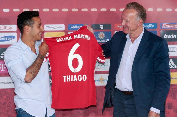 Nummer 6 für Thiago