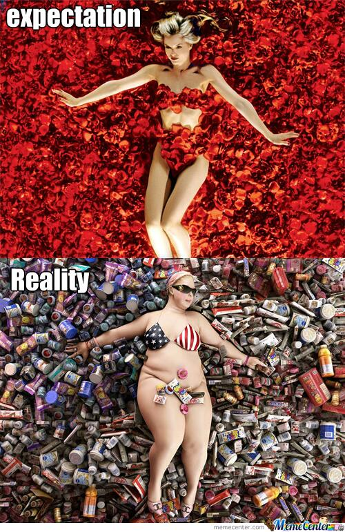 american beauty appearance versus reality The secret beauty issue asian-americans deal with every summer  the  conundrum, it soon became clear to me, was white versus gold, and i would  by  reality tv stars, are another option, used by 40% of beauty consumers  i won't  let my appearance be prescribed by others or dictated by tradition.