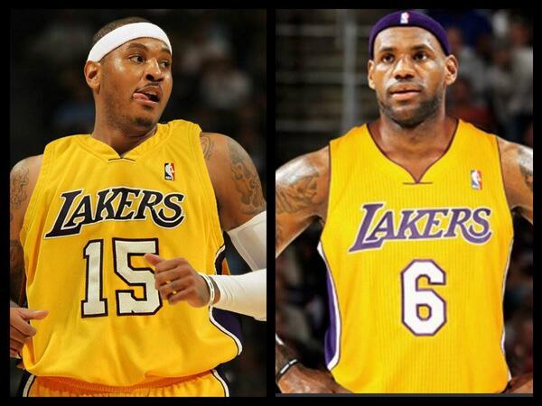 ba624a3ec09 InsyaAllah RT  ESPNNBA  Lakers eyeing Carmelo and LeBron in 2014 (via   ramonashelburne)  http   es.pn 1borE0P pic.twitter.com gIqYhoFXb5