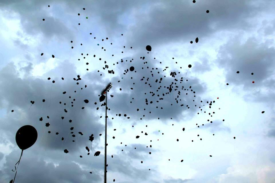 Twitter / bluboient: Connected Voices Black Balloon ...