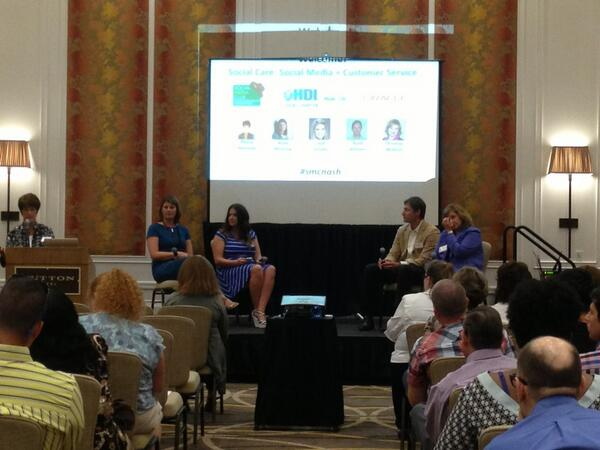 Our panel of social care experts! @abmcgraw @MackeyLeah @ULworkplace @ChristinaMcKeon #smcnash pic.twitter.com/2UzHaYHEcg