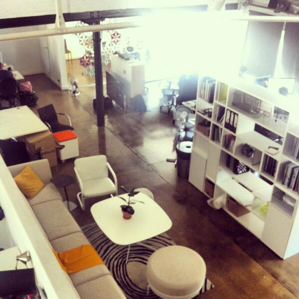 .@seditionart offices @WhiteSpaceLDN, a place full of creatives in @TechCityUK. We love our new home! #DayintheHardt pic.twitter.com/kUxZKqYmMR