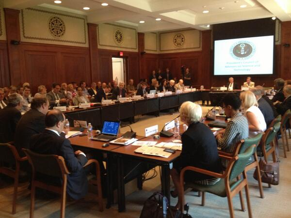 Thumbnail for President's Council of Advisors on Science and Technology meeting on Mathematics Education