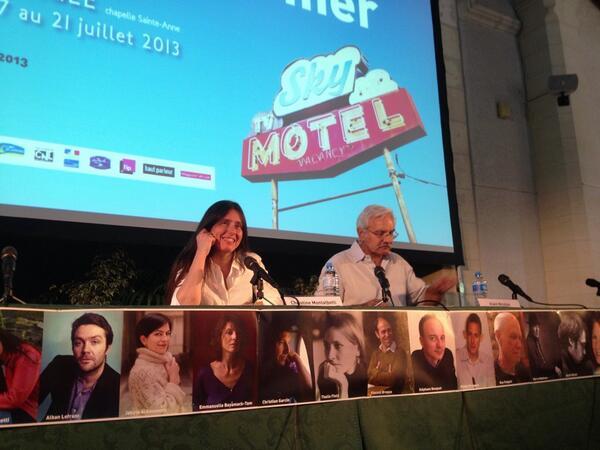 #ebdm2013  Christine Montalbetti et Alain Nicolas pic.twitter.com/ZxcOeBewIT