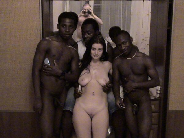 interacial cuckolds Joshua quickly held out his arm to so the  doors wouldn't close.