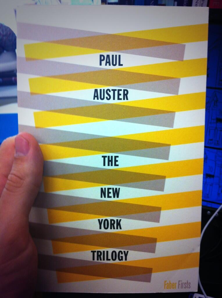Paul Auster - Magazine cover