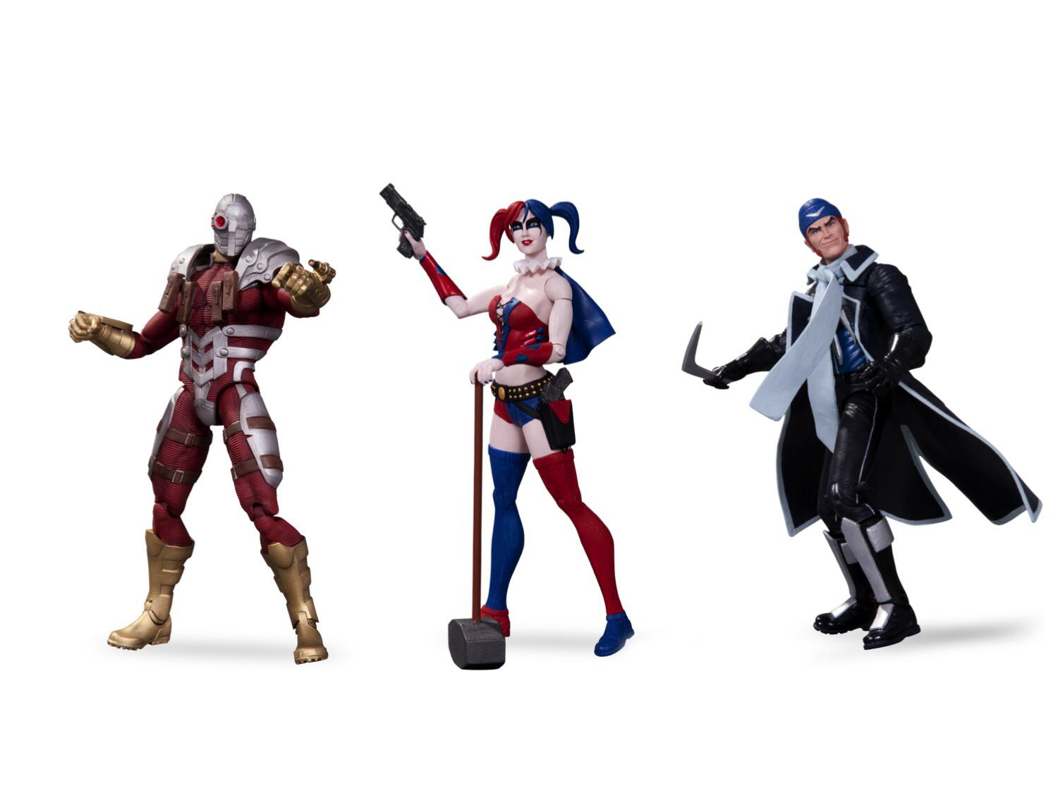 DC Collectibles Suicide Squad Action Figure Pack