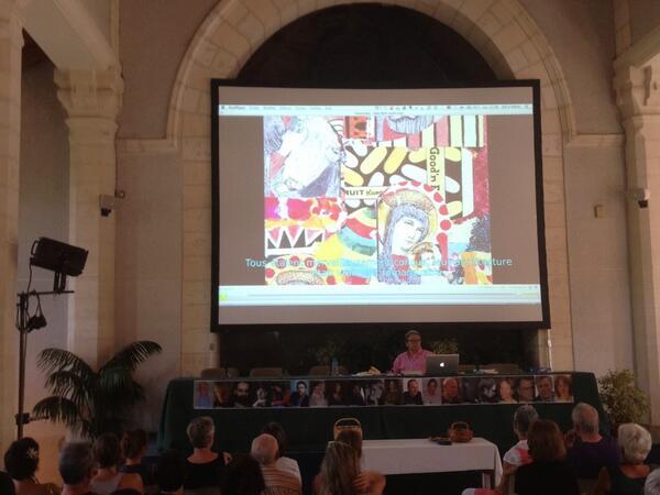 ": #ebdm2013 Bernard Martin projette le film ""je me souviens de Joe Brainard"" http://pic.twitter.com/Hg8apsoOIo"