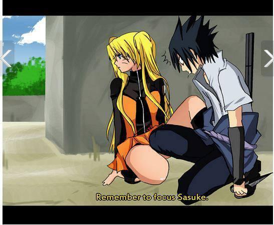 Naruto As Girl