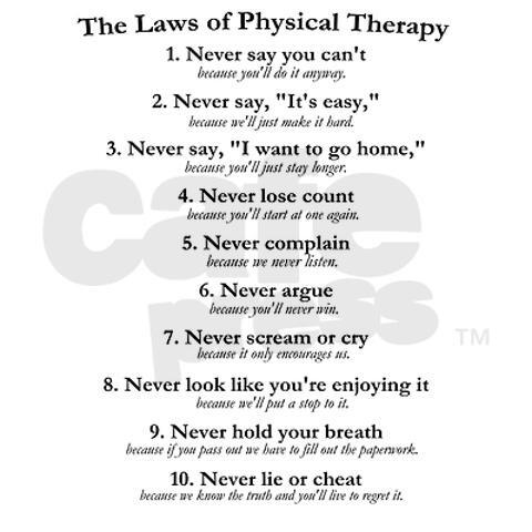 Physical Therapy easiest thing to go to college for