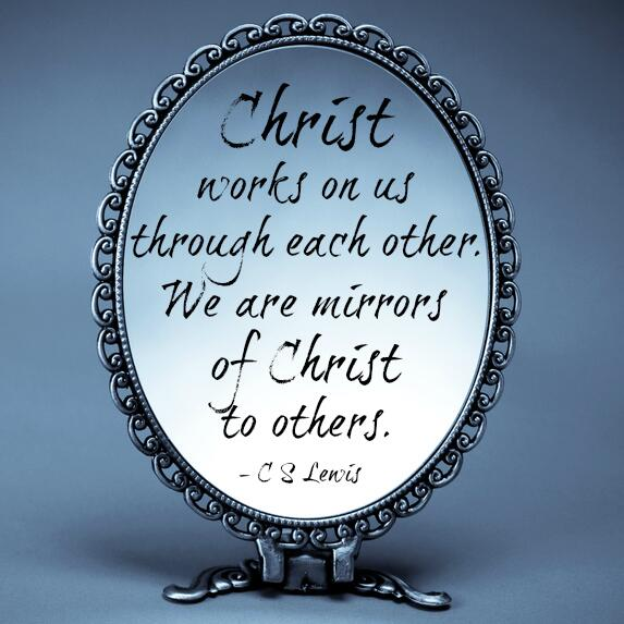 "Jesus Love Each Other: C. S. Lewis On Twitter: ""Christ Works On Us Through Each"