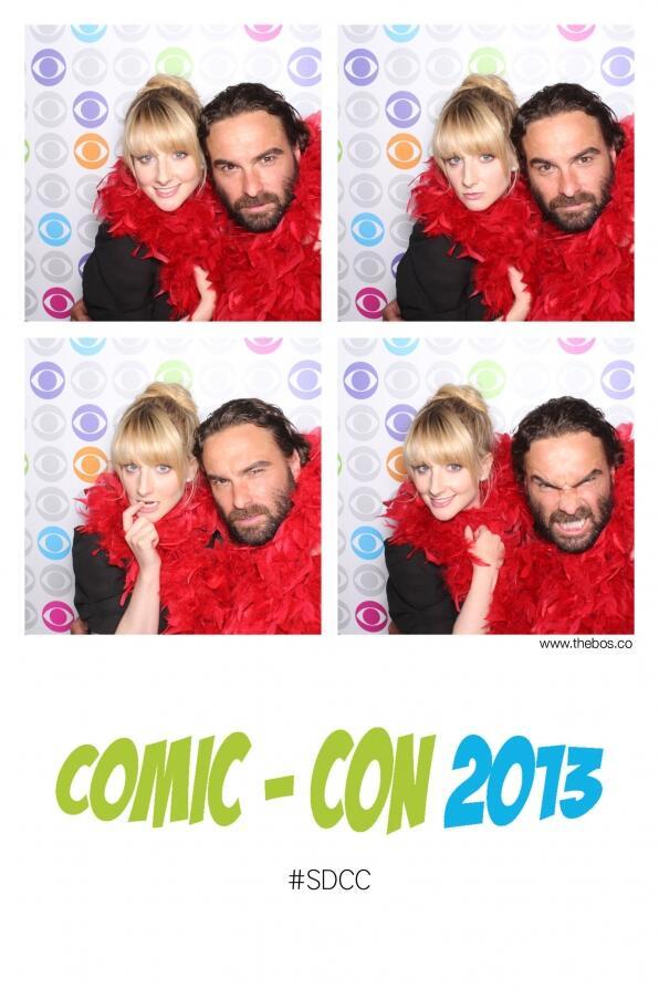 #ComicCon @BigBang_CBS Photo Booth pics #JohnnyGalecki, @MelissaRauch @billprady @SteveMolaro http://t.co/zBT5hoMfMS http://t.co/C0sBtr2DJ7