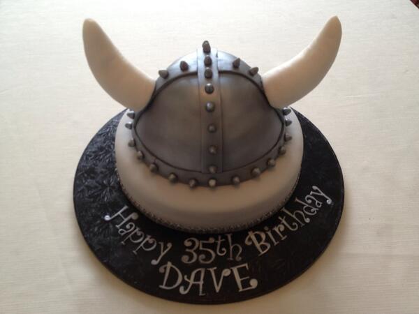 Viking Birthday Cake Pic
